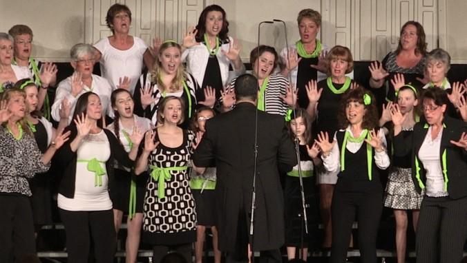 barbershop harmony, female chorus, singing, a cappella, Harmony Inc., Bella Nova Chorus, Richard Lewellen, Northern Virginia, choir, chorus, women, barbershop chorus, Virginia, Maryland, DC
