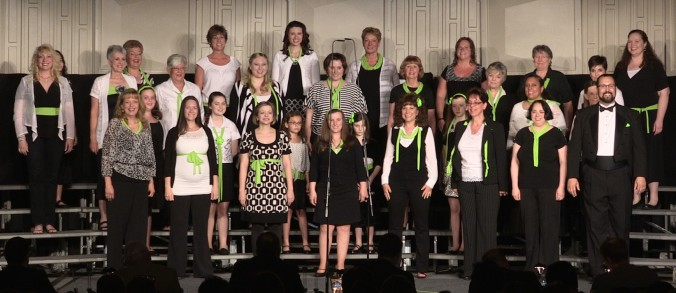 Bella Nova Chorus, female a cappella, barbershop harmony, Harmony Inc., Northern Virginia