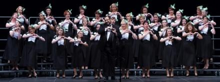 Bella Nova Chorus, barbershop harmony, Harmony Inc., Northern Virginia chorus, choir, women, singing, Richard Lewellen, Epic quartet, a cappella
