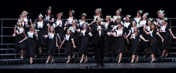 barbershop harmony, female chorus, singing, a cappella, Harmony Inc., Bella Nova Chorus, Richard Lewellen, Northern Virginia, choir, chorus, women, barbershop chorus, Virginia, Maryland, DC