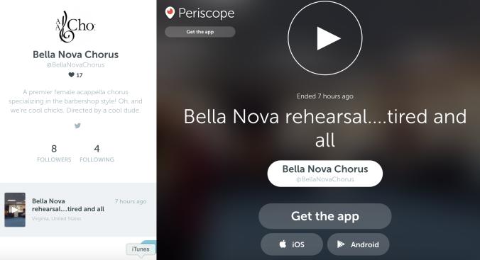 Bella Nova Periscope
